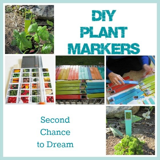 Second Chance to Dream: DIY Plant Markers