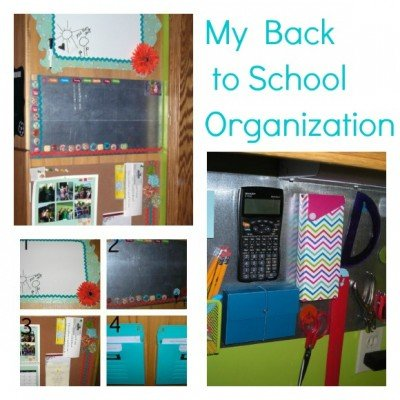 Second Chance to Dream: My Back to School Organization