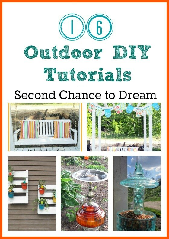 Second Chance to Dream: Outdoor DIY Tutorials #gardening #gardenart #outodoor