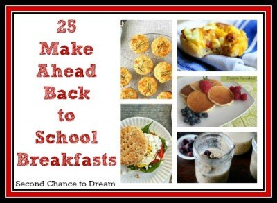 Second Chance to Dream: 25 Make Ahead Breakfasts 2
