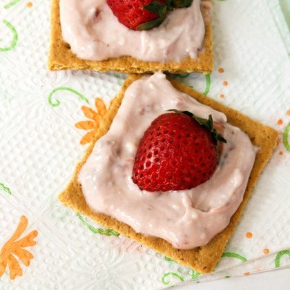 Cheesecake Snacks | Healthy After-School Snack Recipes for Kids | Food | Disney Family.com