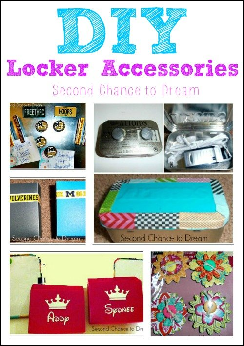 Second Chance to Dream: DIY Locker Accessories