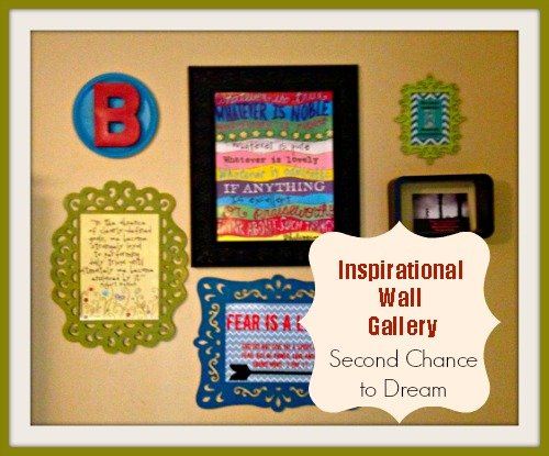 Second Chance to Dream: Inspirational Wall Gallery