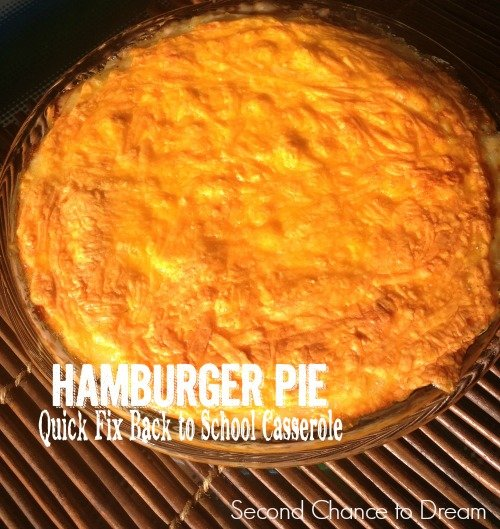 Second Chance to Dream: Hamburger Pie