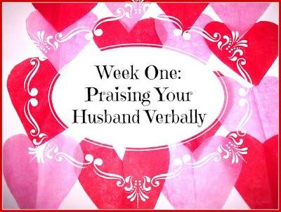 Praising your Husband Verbally