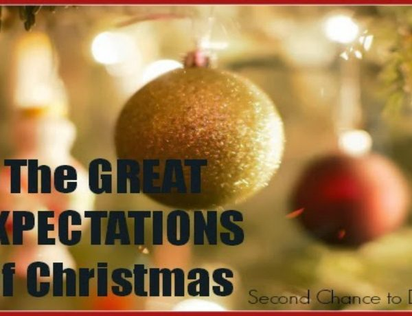 Second Chance to Dream: Great Expectations of Christmas #Christmas