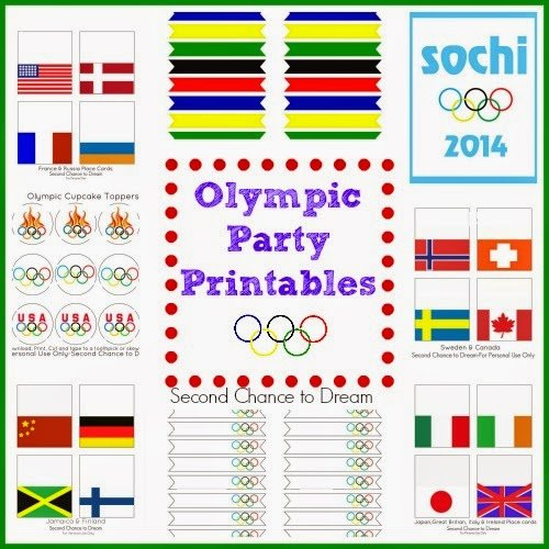 Second Chance to Dream: Olympic Party Printables
