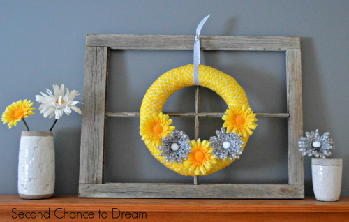 Second Chancet to Dream: Spring Mantel