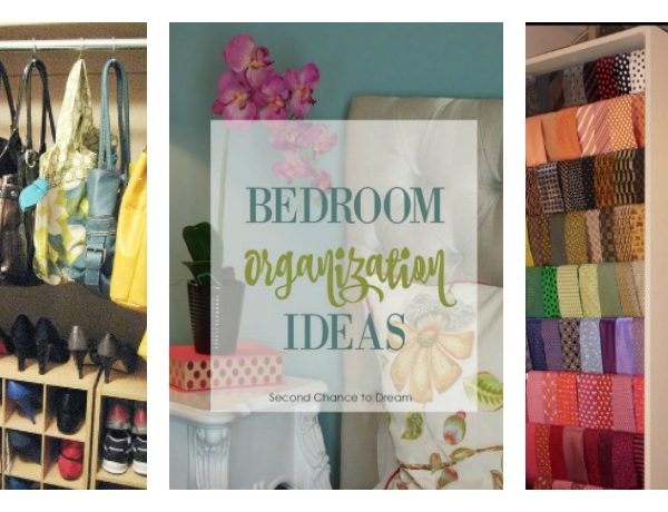 Second Chance to Dream: Bedroom Organization Ideas #organization