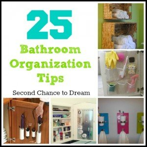 Second Chance to Dream: Bathroom Organization