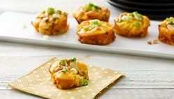 Impossibly Easy Mini Thai Chicken Pies recipe from Betty Crocker