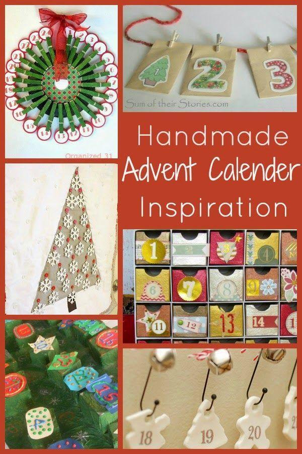 Handmade Advent Calender Inspiration