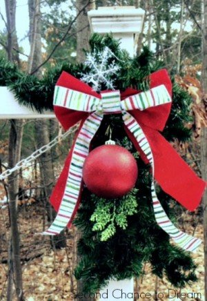 Second Chance to Dream: Close up of Swag #Christmas