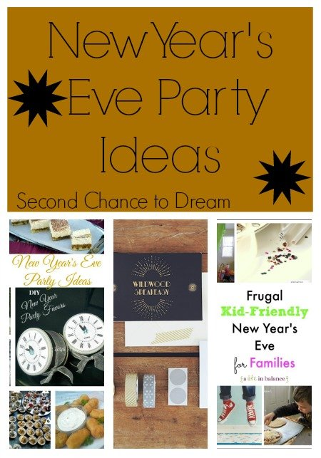 Seocnd Chance to Dream: New Years Eve Party Ideas