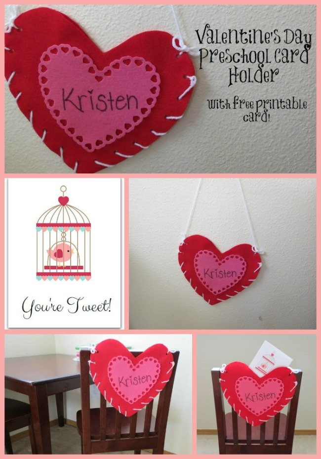 Valentine's Card Holder Pinterest