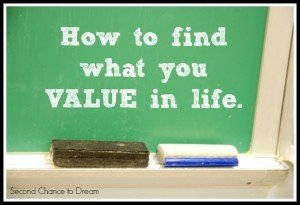 Second Chance to Dream: How to find what you value in life