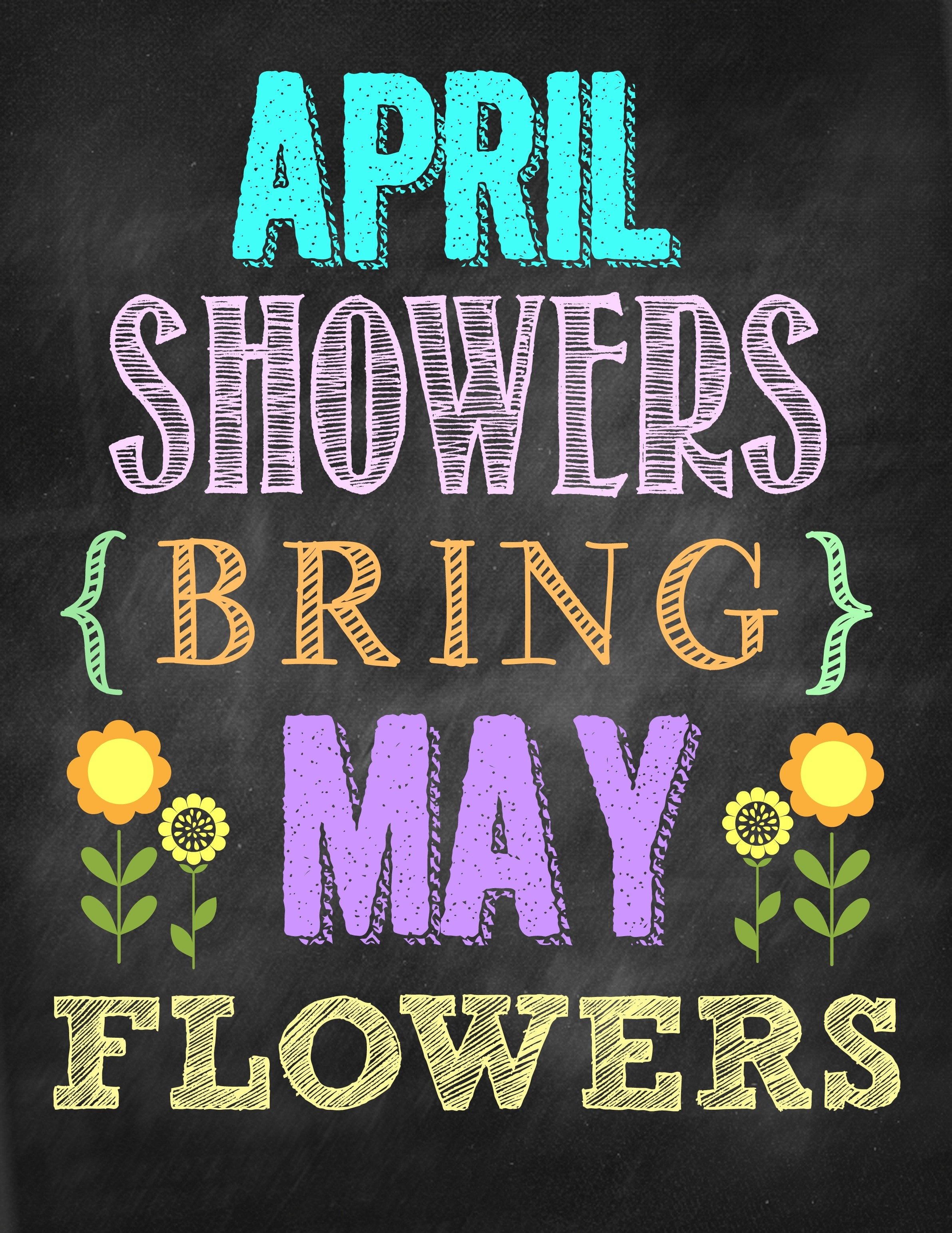 Second Chance to Dream: April Showers Bring May Flowers