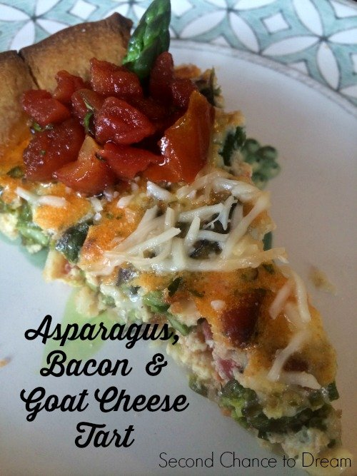 Second Chance to Dream: Asparagus, Bacon & Goat Cheese tart
