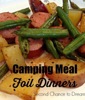 Second Chance to Dream: Camping Meal Foil Dinners