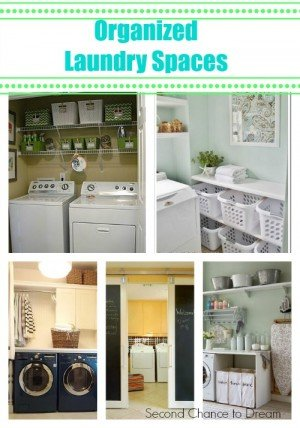 Organized Laundry Spaces