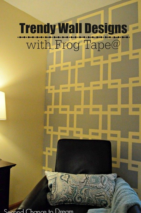 Second Chance to Dream: Trendy Wall Design with Frog Tape