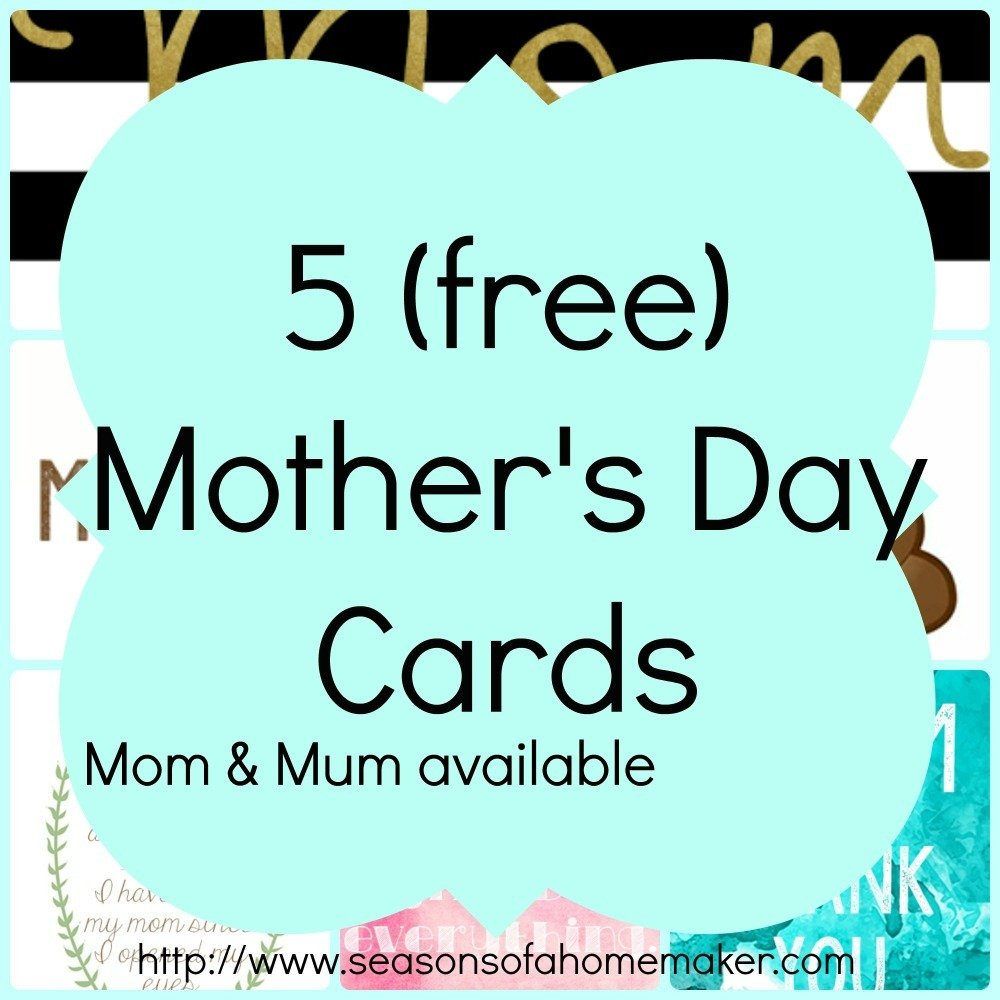 Mother's Day Cards Part 2