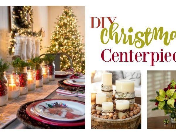 Second Chance to Dream: DIY Christmas Centerpieces #Christmas #Centerpieces