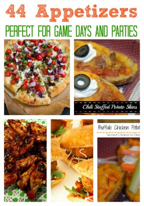 Second Chance to Dream: 44 Appetizers perfect for Game Days and Parties