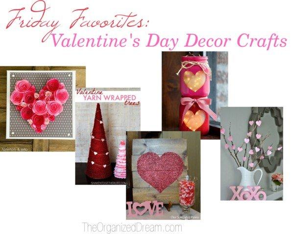FF: Valentine's Day Decor Crafts