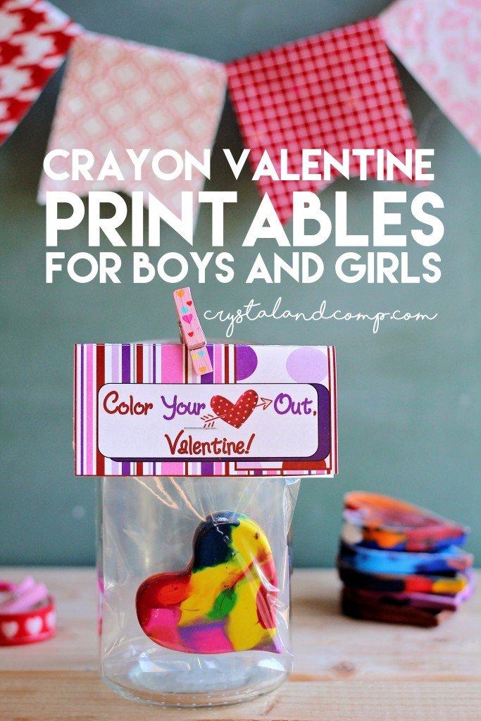 heart crayon valentine printable