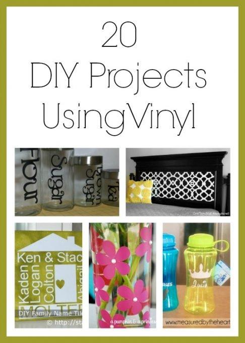 diy vinyl projects