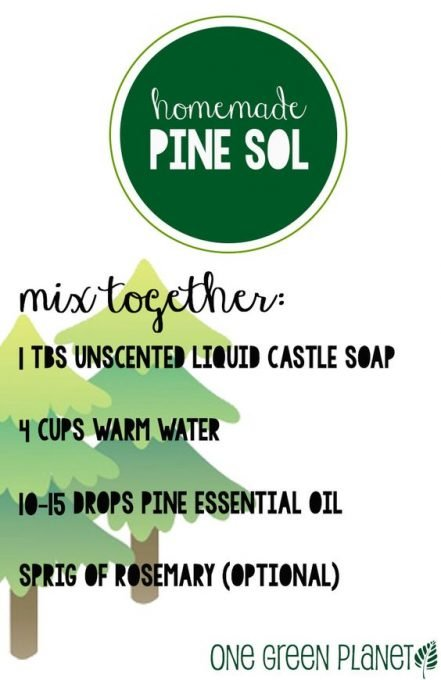 How to Make Easy Homemade, Natural 'Pine Sol' for Sparkling Floors and Wood Furniture: