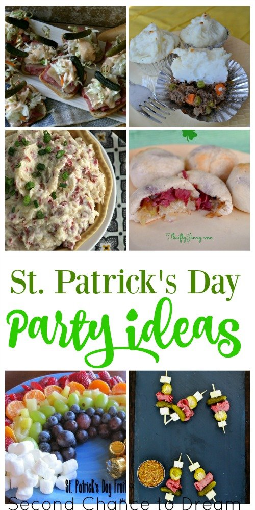 Second Chance to Dream: St. Patrick's Day Party Ideas