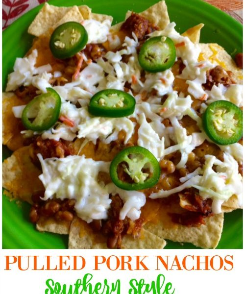 Second Chance to Dream: Pulled Pork Nachos Southern Style