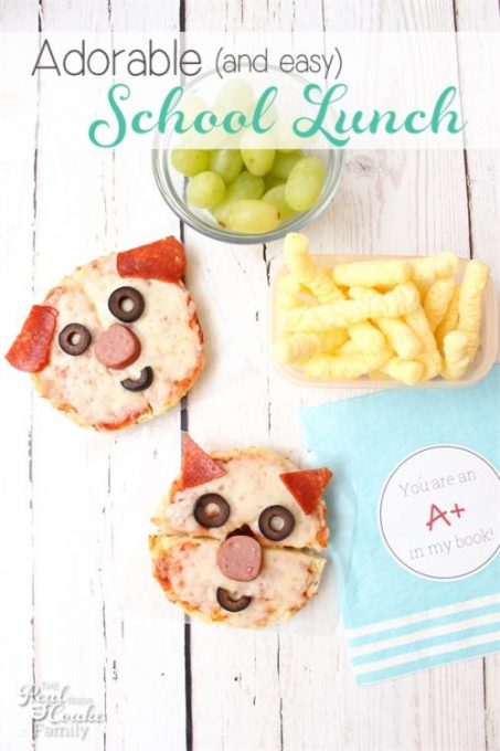OMG! These are the most adorable Lunch Ideas...so cute and so easy to make. Perfect for our school lunches or bento boxes.
