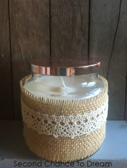 Second Chance to Dream: Turn a drab store bought candle into something fab with #GooGone