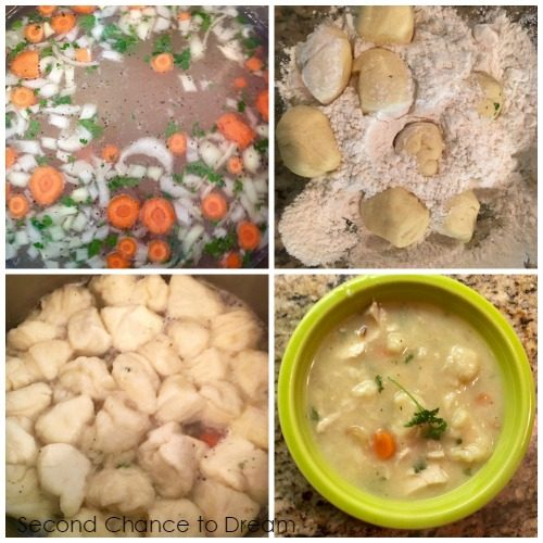 Second Chance to Dream: One Pot Chicken & Dumpling Soup