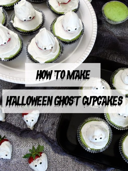 How to Make Halloween Ghost Cupcakes
