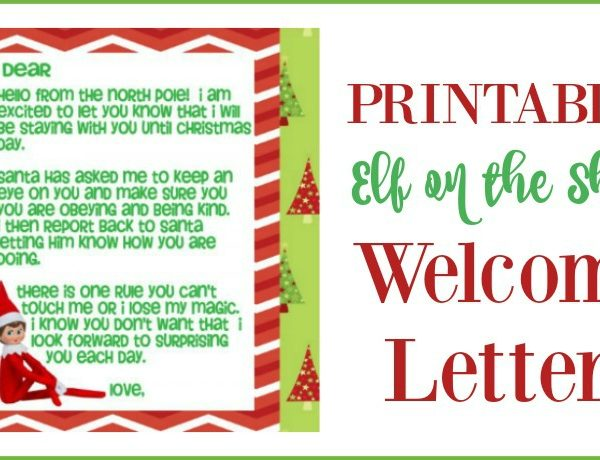 Second Chance to Dream: Elf on the Shelf Welcome Letter #ElfontheShelf