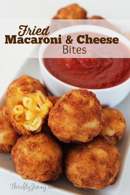 Fried Macaroni and Cheese Bites Recipe