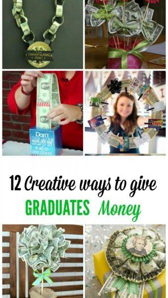 Second Chance to Dream: 12 Creative ways to give GRADUATES money #graduation #graduationgiftideas