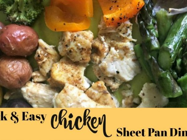 Second Chance to Dream: Quick & Easy Chicken Sheet Pan Dinner #chicken #sheetpandinner #quick #easy