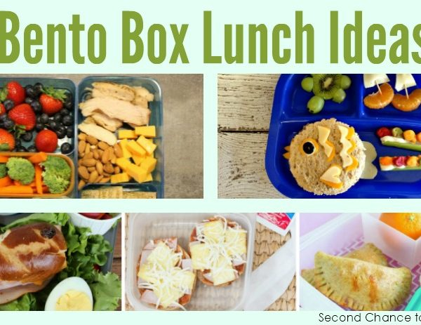 Second Chance to Dream: Bento Box Lunch Ideas #bento #lunch #backtoschool