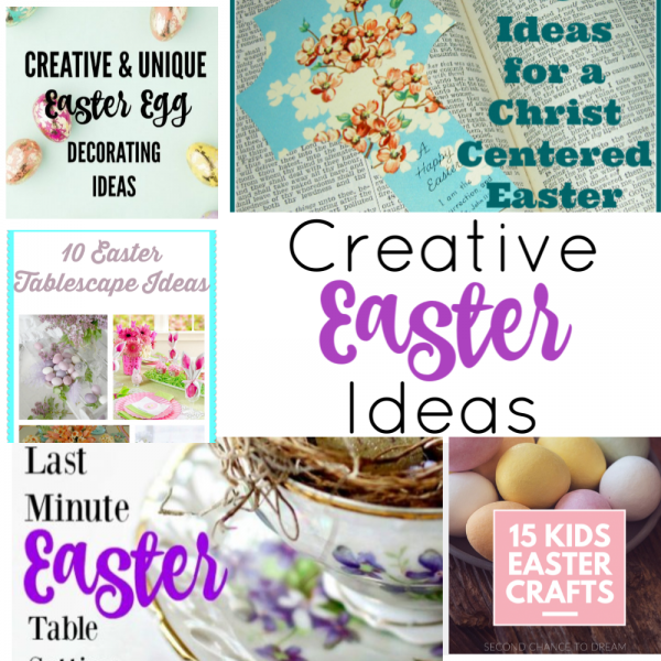 Second Chance to Dream: Creative Easter Ideas #Easter #coloringeggs #ChristcenteredEaster #Christ