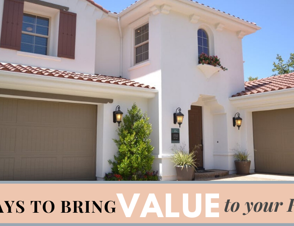 Second Chance to Dream: 8 Ways to Bring Value to your Home #homevalues