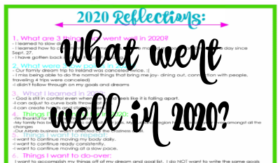 Second Chance of Dream 2020 Reflections-Inventory
